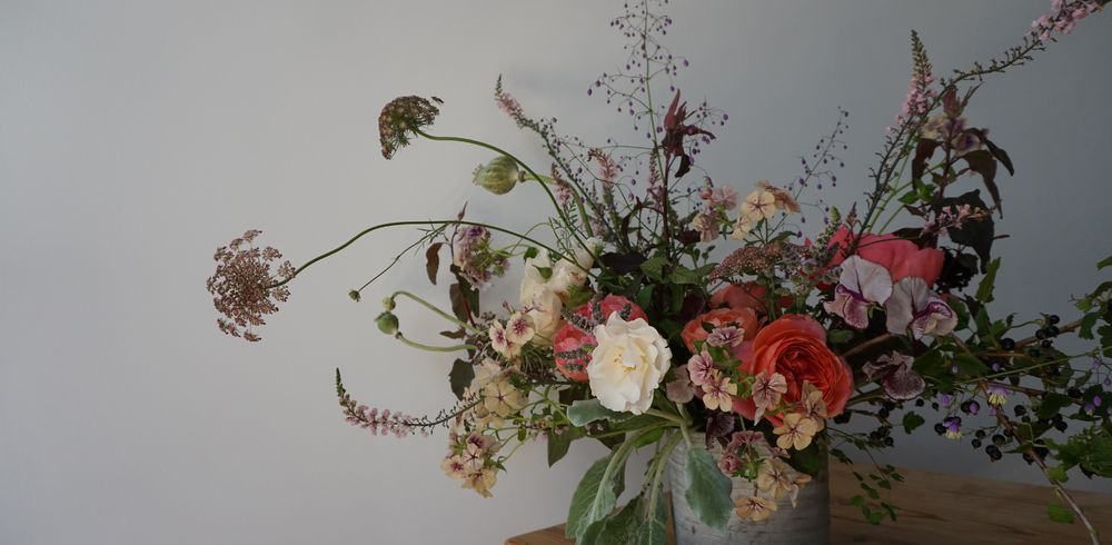 Beautiful flowers by Pyrus Botanicals