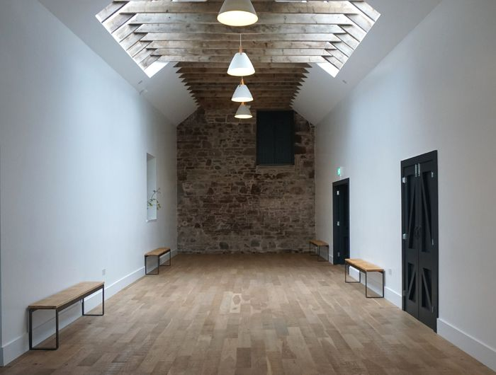 The Granary- large space, level wooden surface