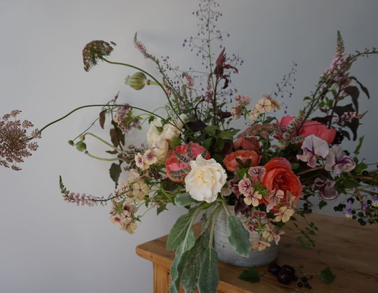 Ceremony flowers by Pyrus Botanicals
