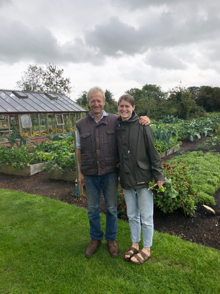 Meeting Charles Dowding in his Somerset garden. Champion of no-dig gardening